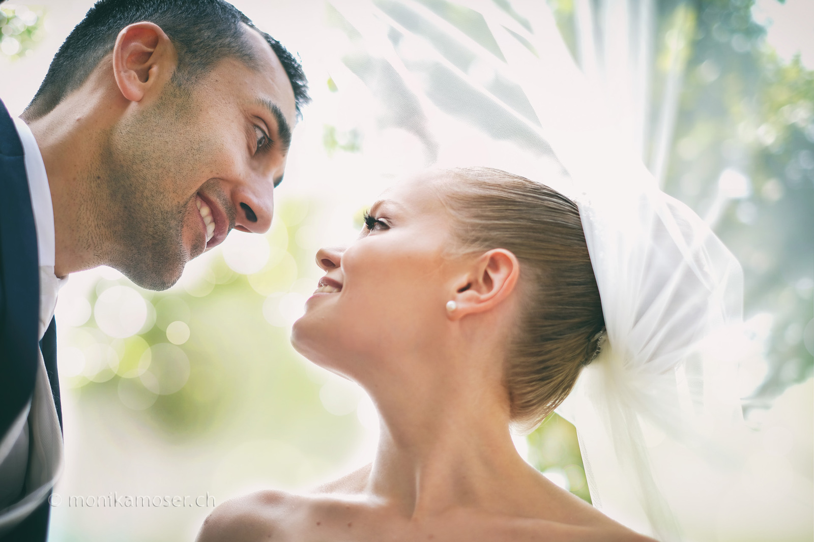 Fotograf Winterthur - Brautpaar Blick
